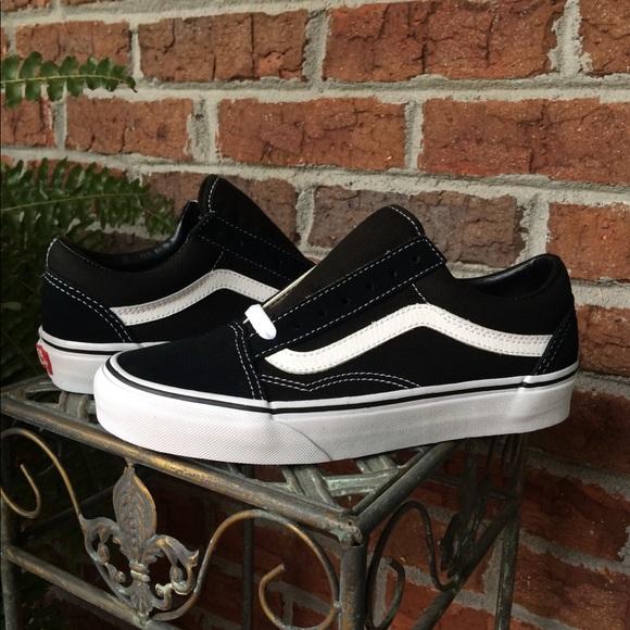 Vans Shoes | Vans Old Skool Blackwhite